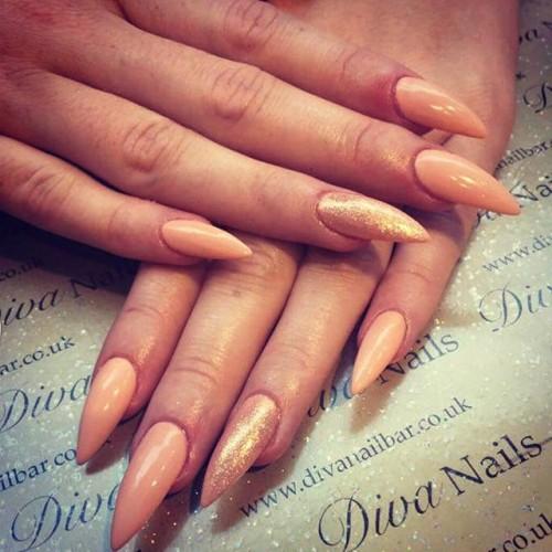 60 most beautiful stiletto nail art designs ideas for