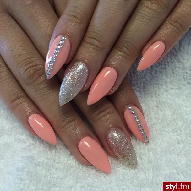 Stiletto Nail Art 2013: 61 Latest Stiletto Nail Art Design Ideas For Teen Girls