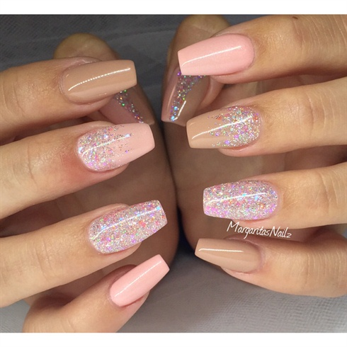52 Classic Glitter Nail Art Design Ideas For Trendy Girls