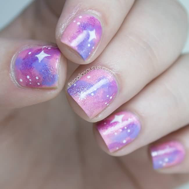 51 Most Stylish Galaxy Nail Art Design Ideas For Teen Girls