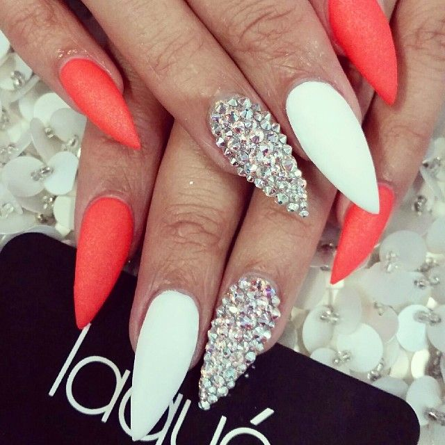 Cute Nail Designs For Pointed Nails Best Nail 2018