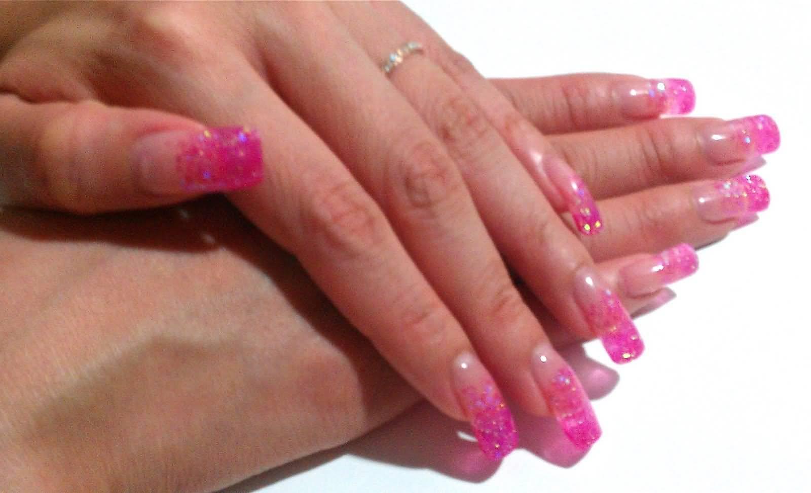 Conosciuto 65 Most Beautiful Glitter Nail Art Designs DL21