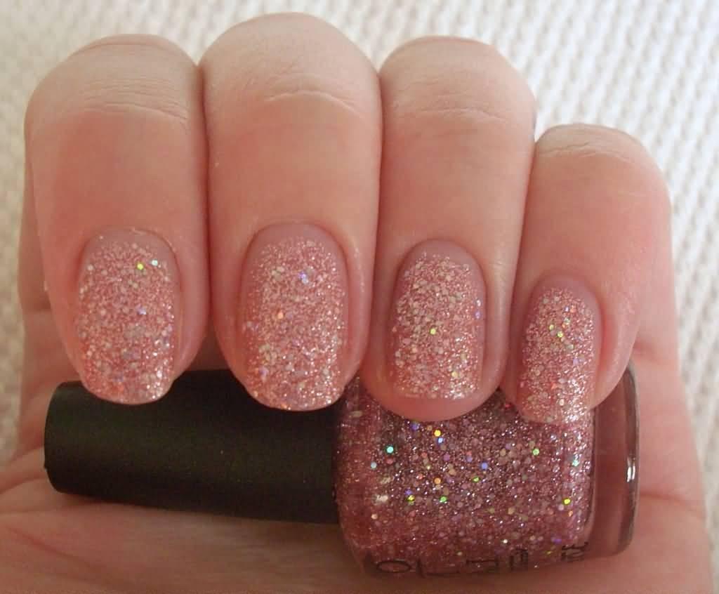 55 best glitter nail art design ideas pink glitter nail design solutioingenieria Images