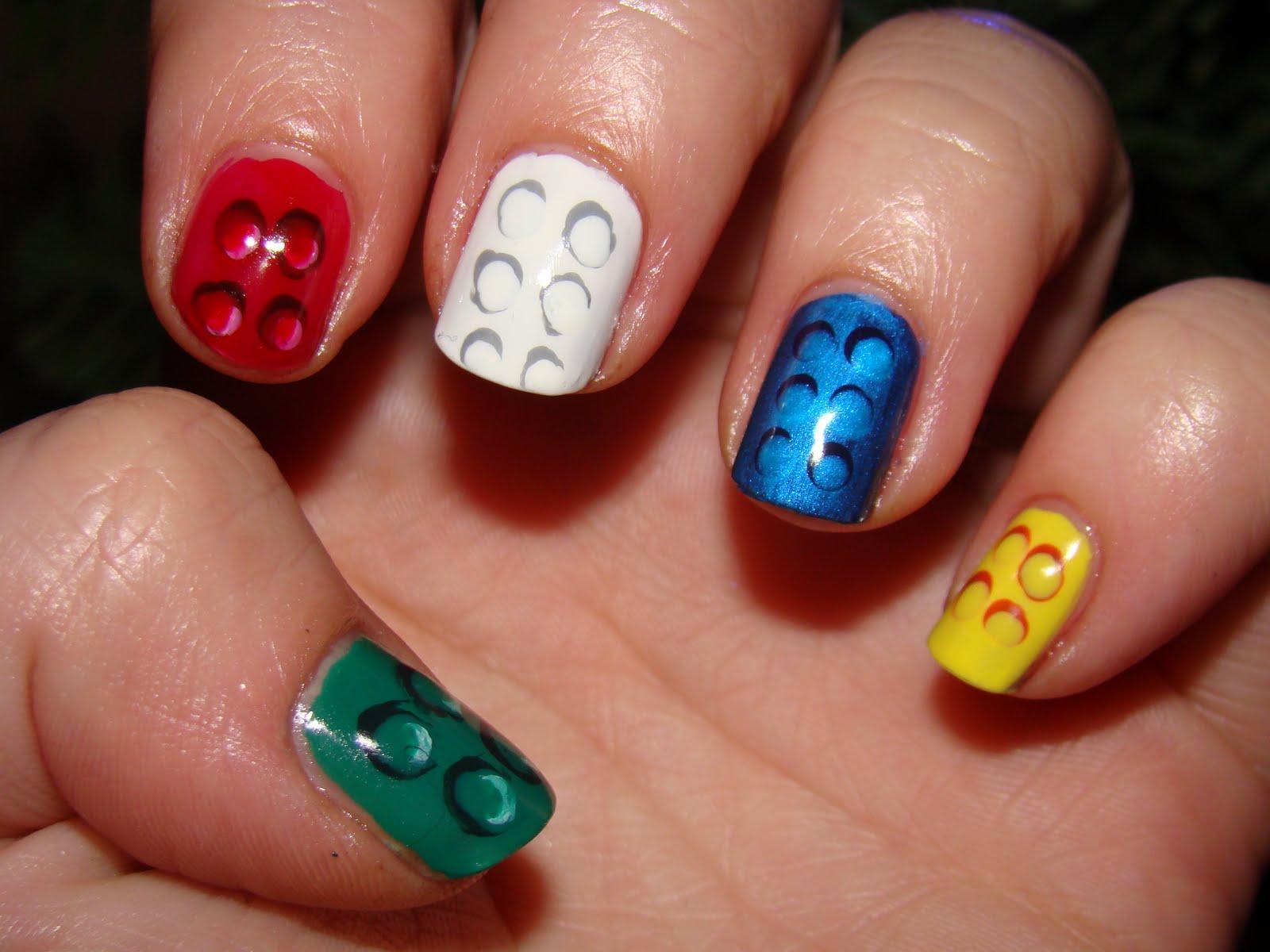 30 most adorable birthday nail art designs polka dots birthday nail art urmus Images