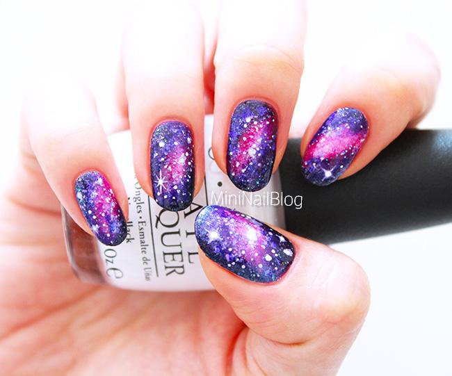 55 best galaxy design nail art ideas purple and pink galaxy nail art prinsesfo Choice Image