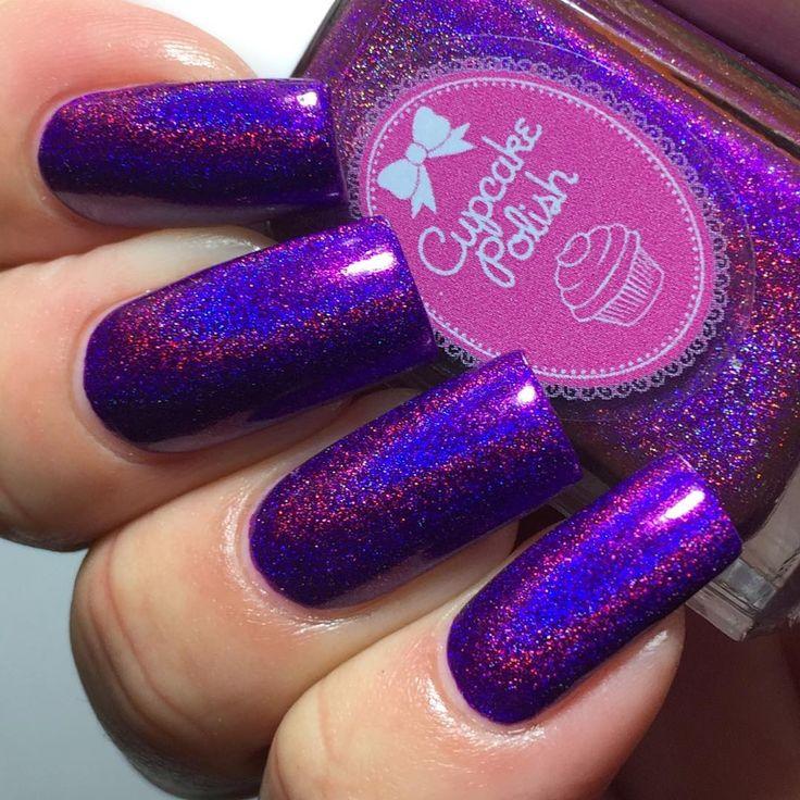 Spectrum Holographic Nail Polish: 51 Most Stylish Hologram Nail Art Designs