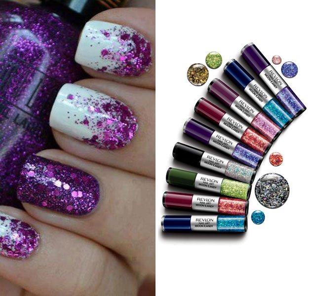 60 Most Beautiful Glitter Nail Art Ideas
