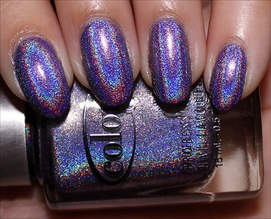 30 Cool Hologram Nail Art Designs