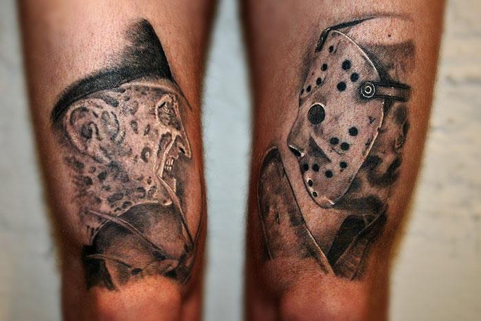25+ Jason Vs Freddy Tattoos