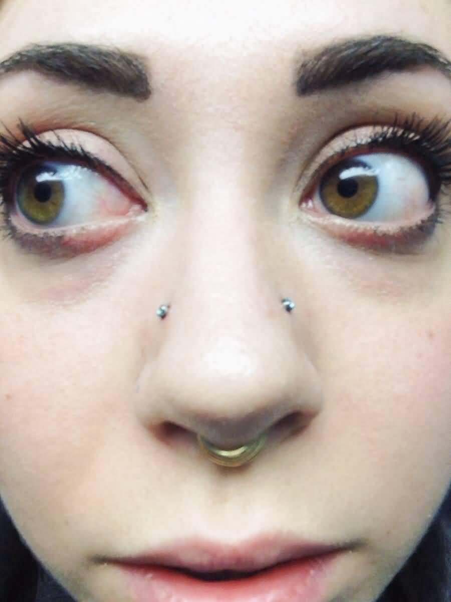 Teen blue eyes