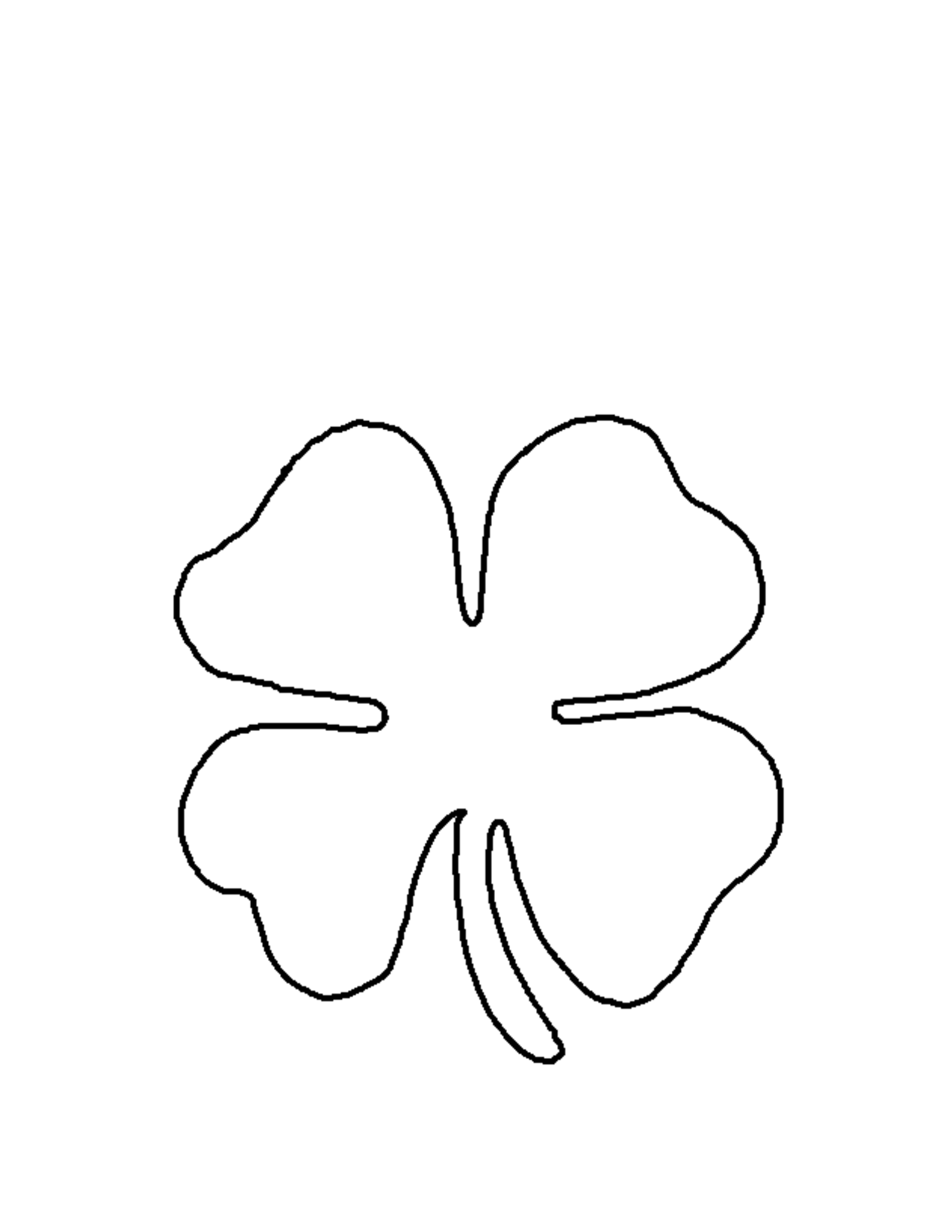 20+ Outline Shamrock Tattoos