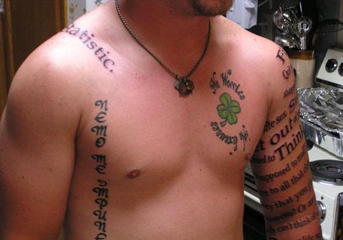 50+ Amazing Shamrock Tattoos