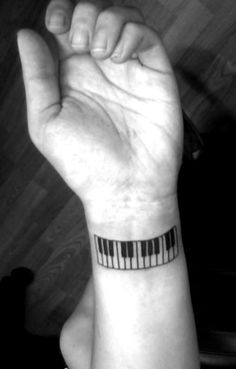 60 Amazing Piano Tattoos