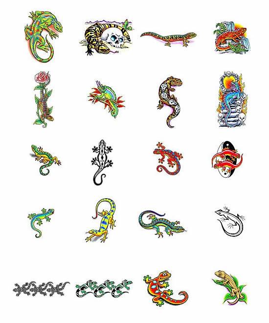 10 reptile tattoo designs. Black Bedroom Furniture Sets. Home Design Ideas