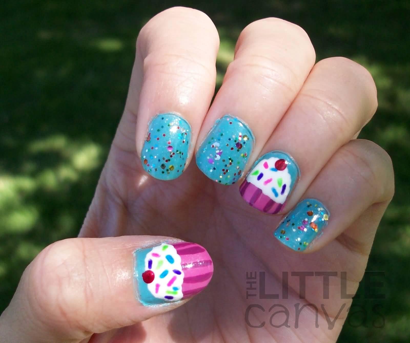 Birthday Nail Designs: 30+ Most Adorable Birthday Nail Art Designs