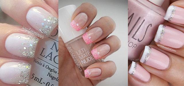 60 most beautiful glitter nail art ideas three glitter nail art design ideas prinsesfo Gallery