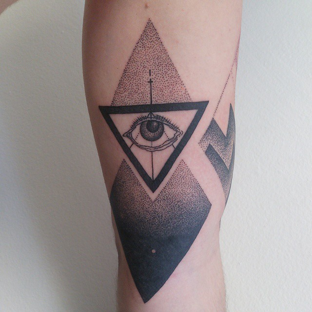 Eye Tattoos Designs Ideas And Meaning: 28+ Incredible Triangle Eye Tattoos