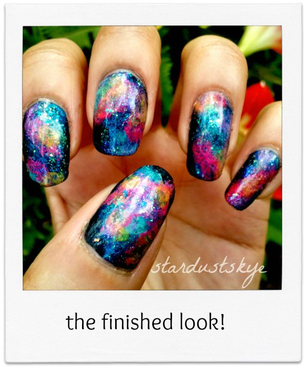 55 Best Galaxy Design Nail Art Ideas