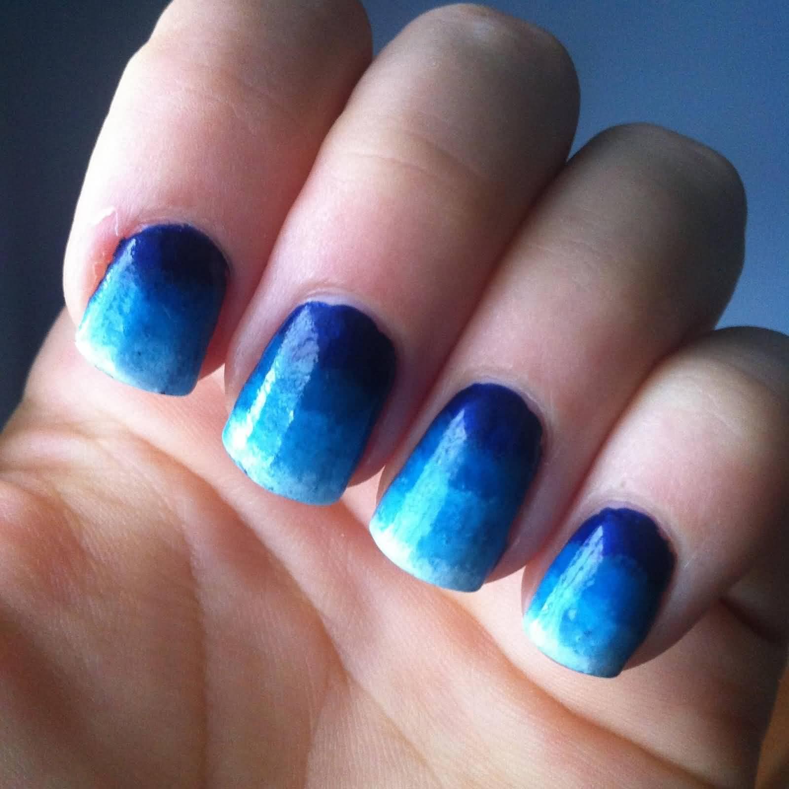 Nail Art Images Blue: 50+ Best Blue Nail Art Design Ideas