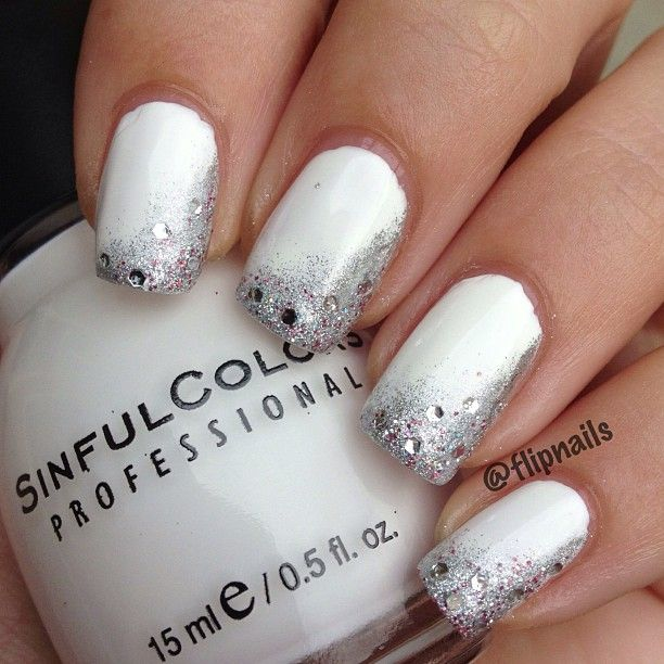 65 Most Beautiful Glitter Nail Art Designs