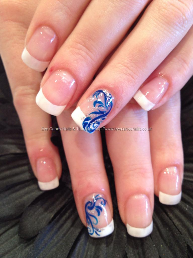 52+ Most Stylish Blue Nail Art Ideas