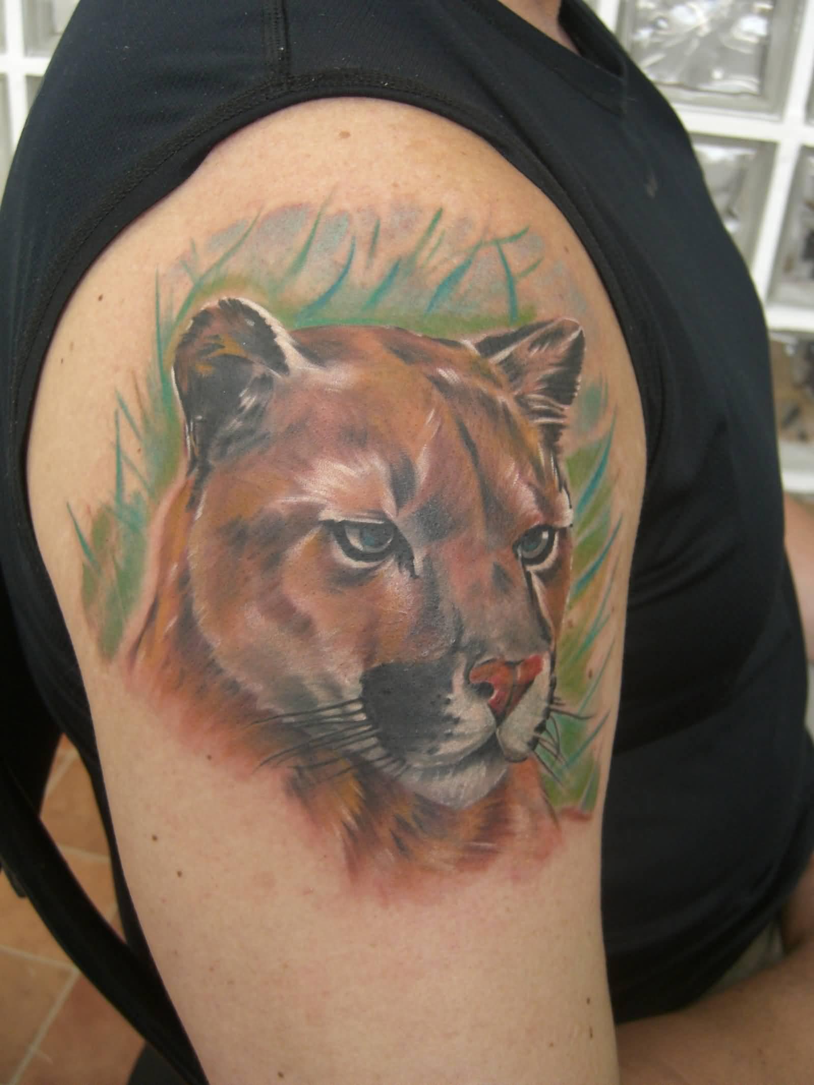 10 Puma Tattoo Designs