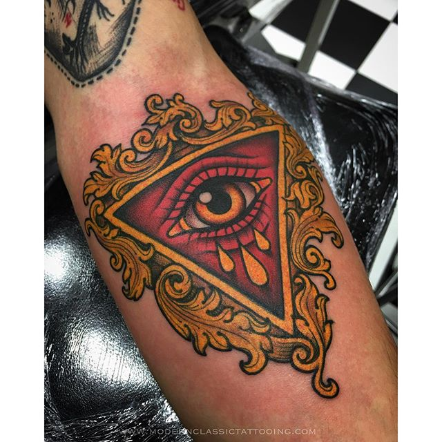 Eye With Triangle Tattoo: 28+ Incredible Triangle Eye Tattoos