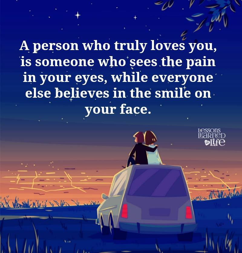 Quote Everyone Should Smile: True Love Quotes