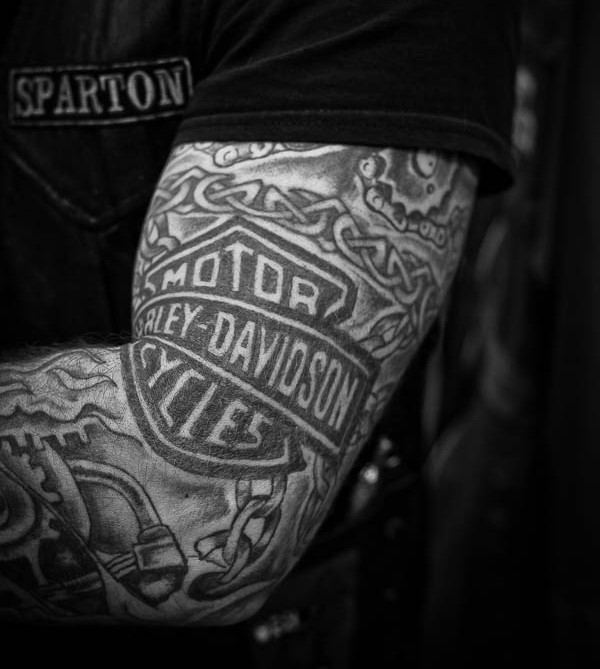 27+ Harley Tattoos On Sleeve