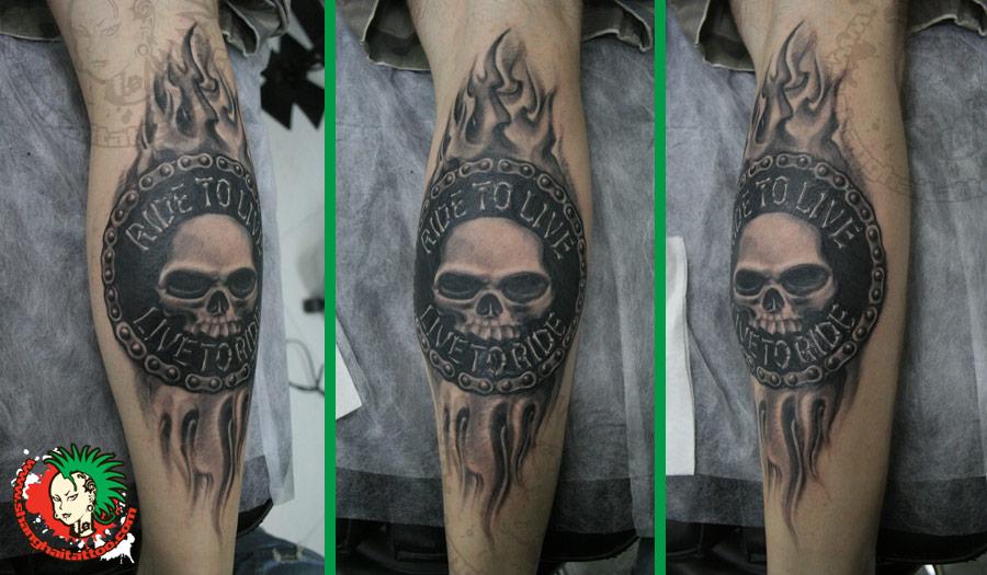 52  Awesome Harley Tattoos