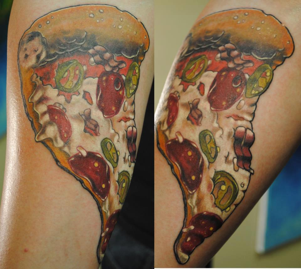 Tattoos House Hd Tattoos Designs Collection For Both Men: 30+ Amazing Pizza Tattoos Collection