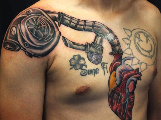 8+ Turbo Tattoo Designs