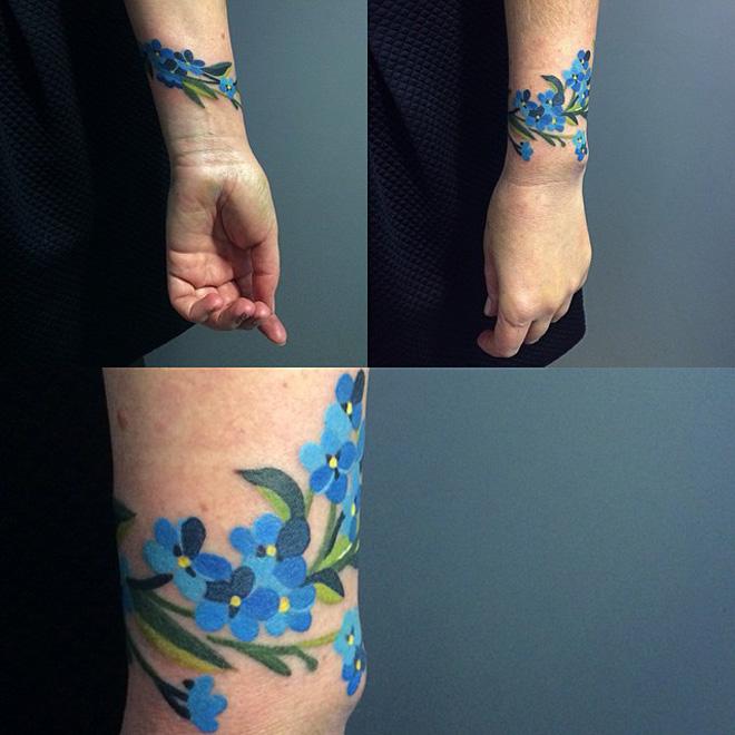 100 Latest Bracelet Tattoo Designs For Ladies: 22+ Plant Tattoo Designs