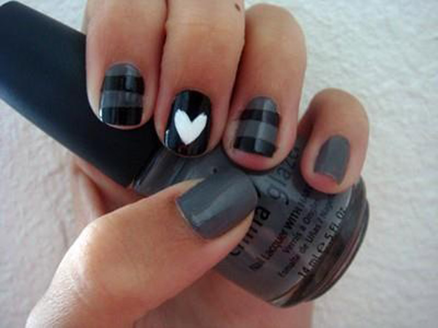 65+ Most Beautiful Heart Nail Art Design Ideas For Trendy Girls