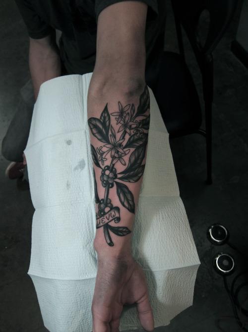 11+ Plant Tattoos On Arm