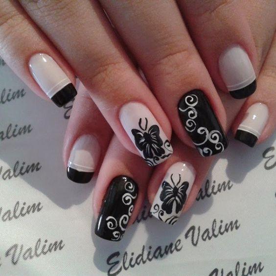 55+ Best Butterflies Nail Art Design Ideas For Trendy Girls