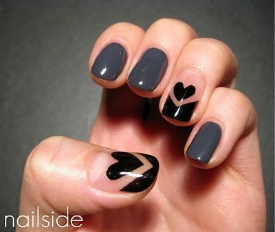 Hearts Nail Art - Emsilog.com