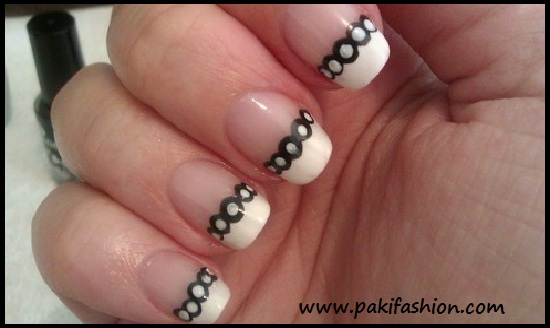 Simple Nail Art Designs With White Colour Hession Hairdressing