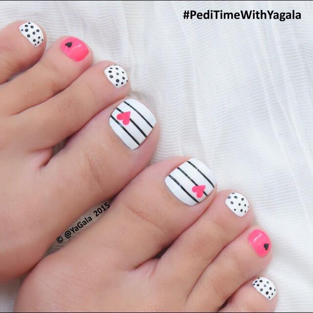Pink toe nail art nails gallery pink toe nail art image prinsesfo Choice Image