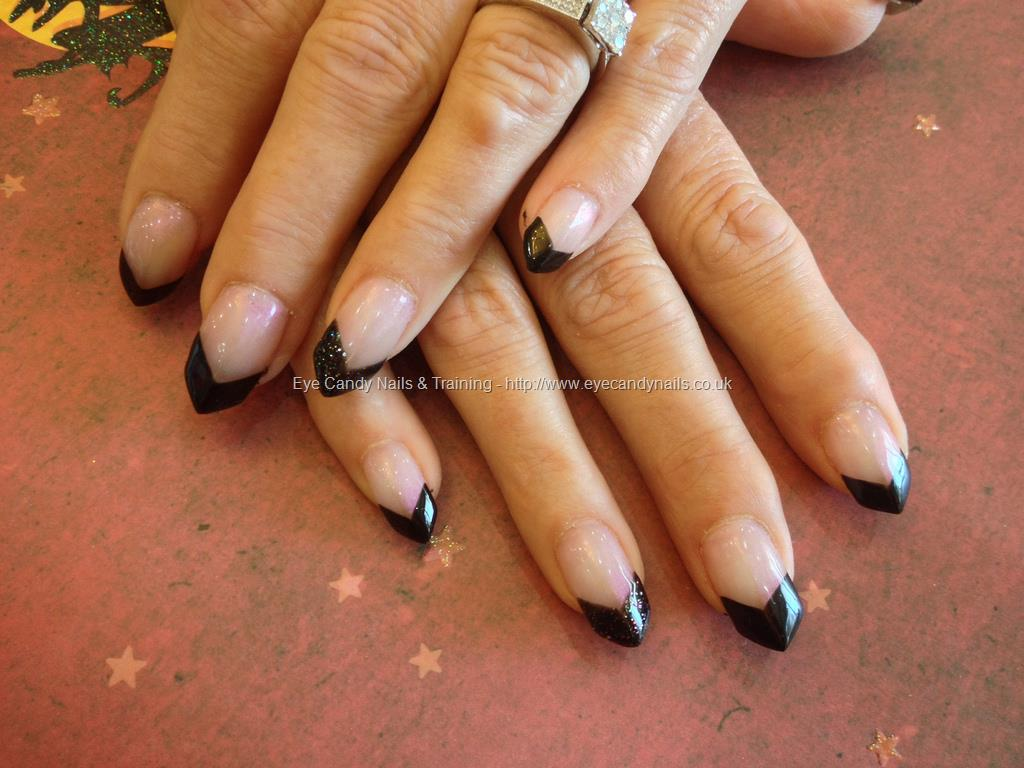 Black tip nails with design gallery nail art and nail design ideas black tip nail designs ledufa incredible black tip nail designs 19 along inspiration article prinsesfo gallery prinsesfo Gallery