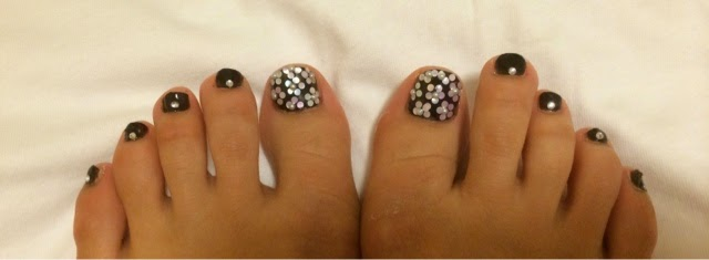 Toe Nail Designs Black And White Images Free Download 60