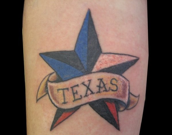 19 texas star tattoos. Black Bedroom Furniture Sets. Home Design Ideas