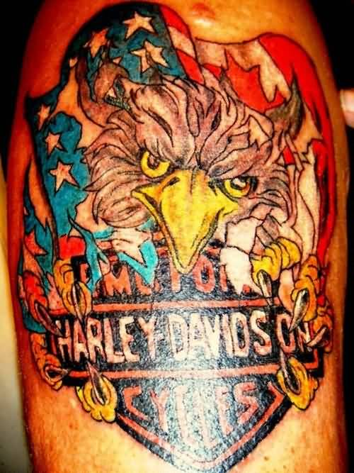 52 Awesome Harley Tattoos