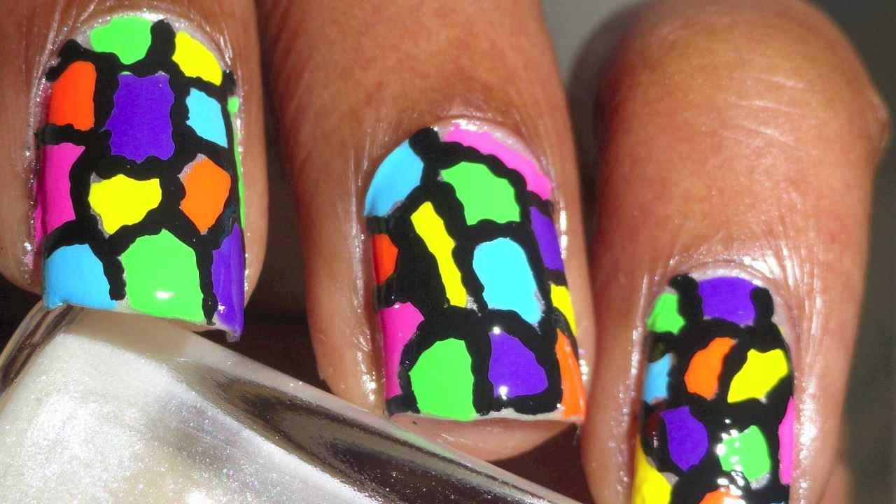 Colorful Nail Art Images Nailarts Ideas