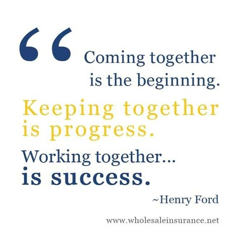 Quotes Together We Can Succeed: 57+ Best Teamwork Quotes & Sayings