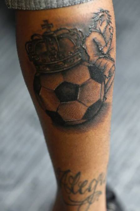 6 football tattoo designs. Black Bedroom Furniture Sets. Home Design Ideas