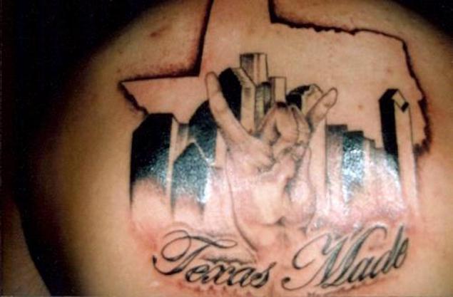 16 amazing texas made tattoos. Black Bedroom Furniture Sets. Home Design Ideas