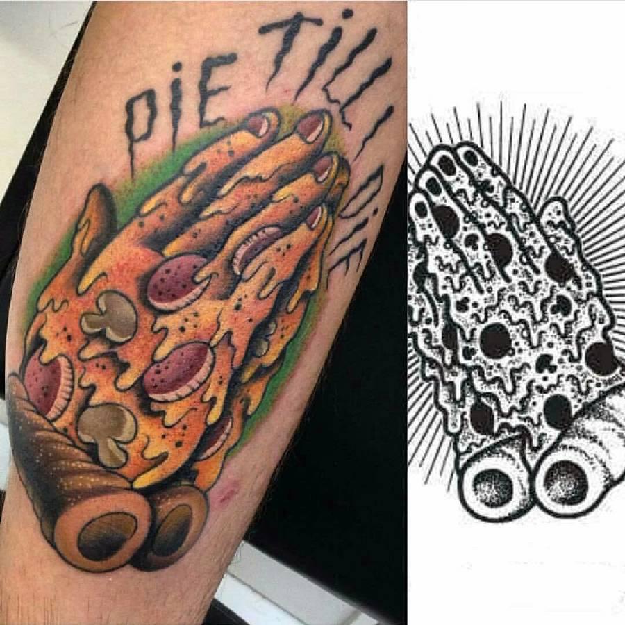 25+ Pizza Tattoo Designs