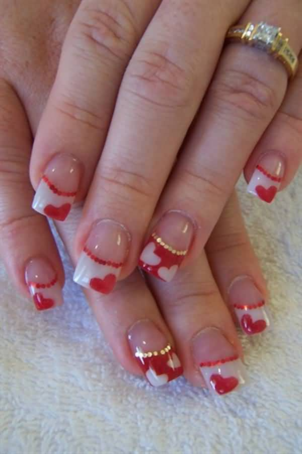 65 most beautiful heart nail art design ideas for trendy