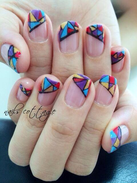 65 Latest Mosaic Nail Art Design Ideas For Girls